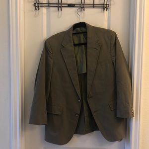 Other - Men's blazer. Olive color. 38S.